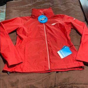 Razorback Themed Rain Jacket.  NWT!
